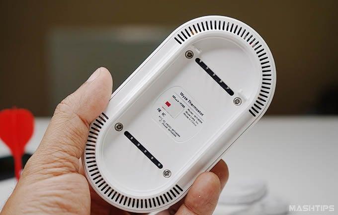 Wyze Thermostat Back Design