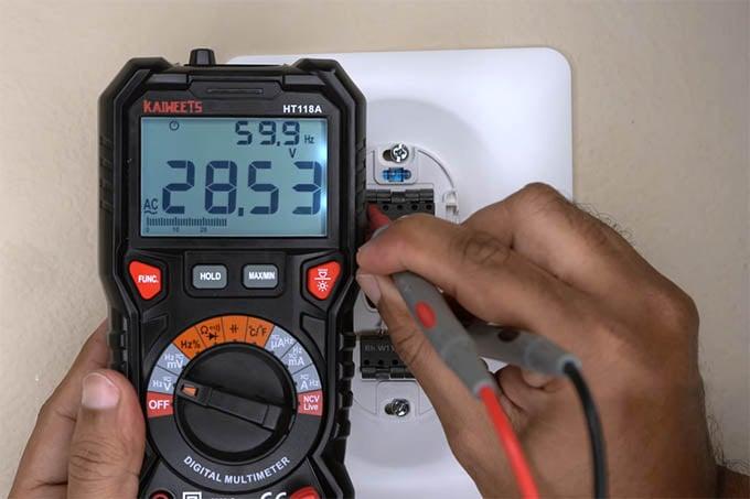 Wyze Thermostat Rc Wire Voltage