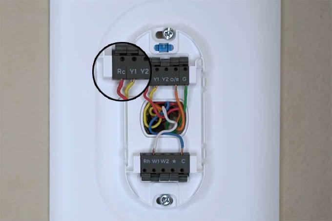 Wyze Thermostat Rc Wire