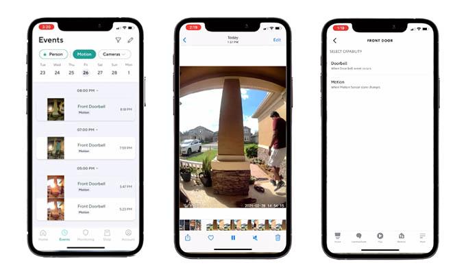 Wyze Video Doorbell Camera Recording and Storage