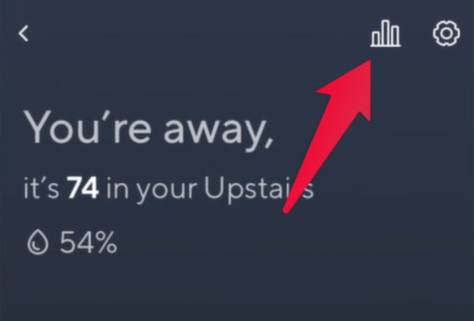 Wyze thermostat tips: See Your Weekly Or Monthly usage Stats