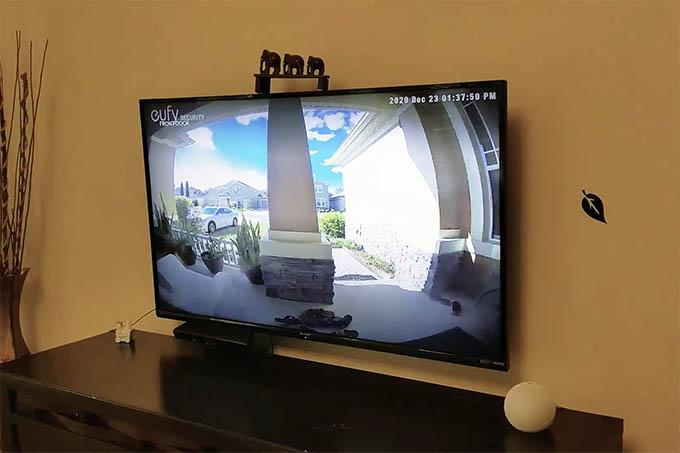 Alexa Showing Front Door Camera on Fire TV