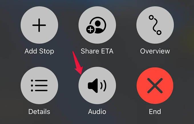 Apple Maps Audio Volume