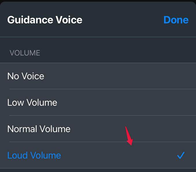 Apple Maps Loud Volume
