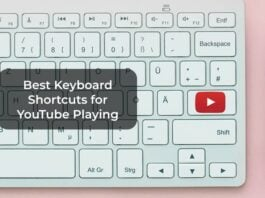 Best Keyboard Shortcuts for YouTube Playing