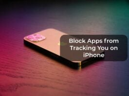Block Apps from Tracking You on iPhone