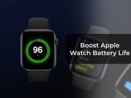 Boost Apple Watch Battery Life