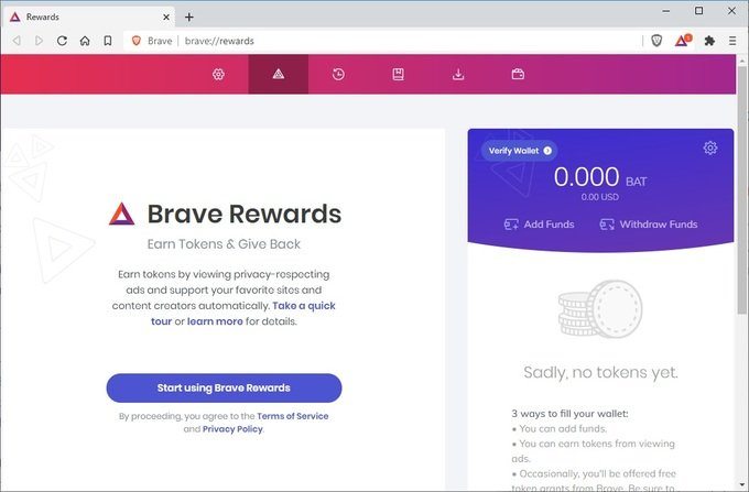 Brave Tips and Tricks: Use Brave Ads To Make Money