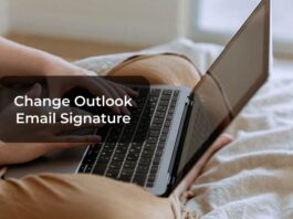 Change Outlook Email Signature