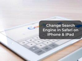 Change Search Engine in Safari on iPhone & iPad