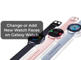 Change or Add New Watch Faces on Galaxy Watch