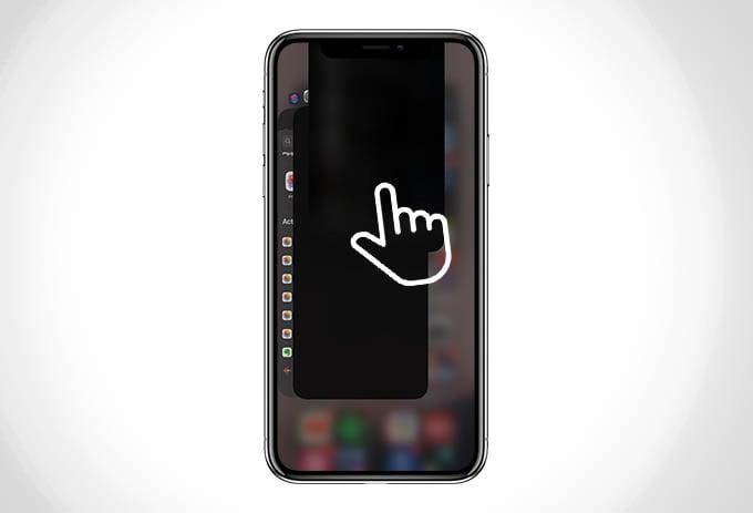 Close Single App on iPhone