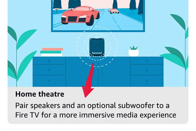 Create Home Theatre in Alexa