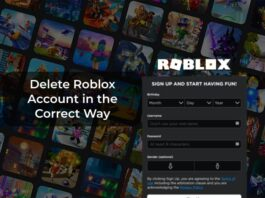 Delete Roblox Account in the Correct Way