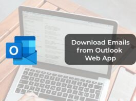 Download Emails from Outlook Web App