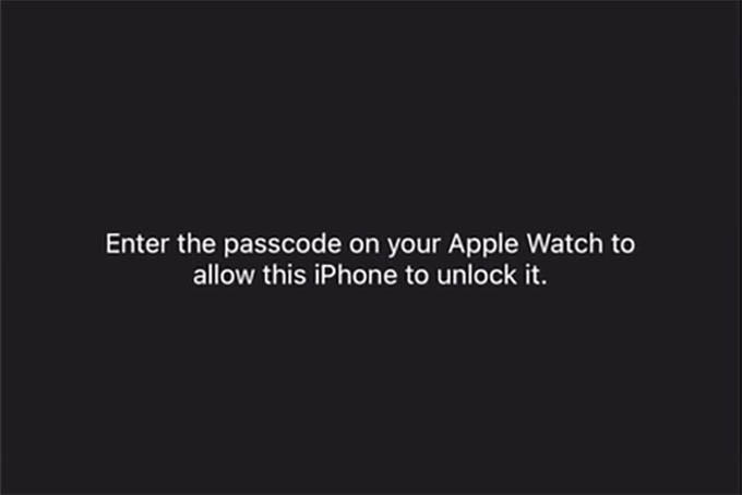 Enter Passcode on Apple Watch to Enable Apple Watch Unlock with iPhone