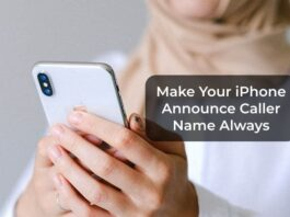 Make Your iPhone Announce Caller Name Always