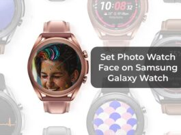 Set Photo Watch Face on Samsung Galaxy Watch