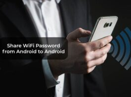 Share WiFi Password from Android to Android
