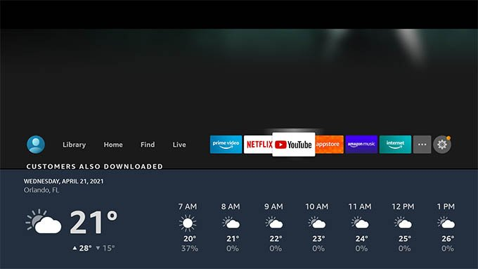 Show Weather on Fire TV with Alexa