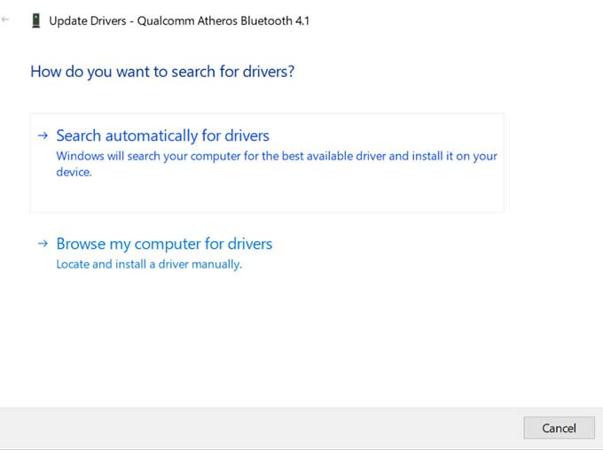 Update Drivers Windows 10 Device Manager