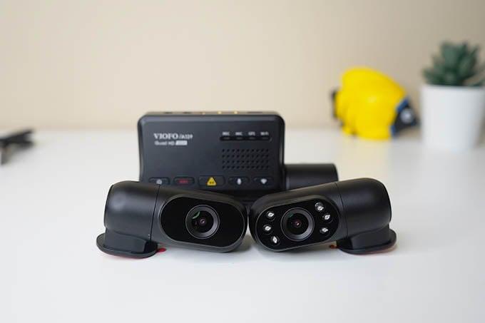 Viofo Dash Cam Indoor and Rear Camera