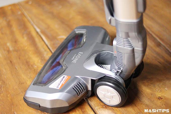 iLife Easine H55 Cordless Vacuum Floor Head Installed