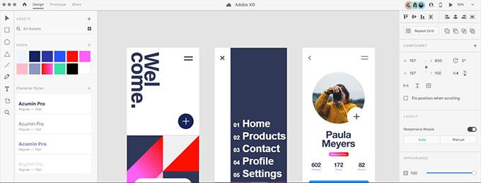Adobe XD Design Collaboration Tools