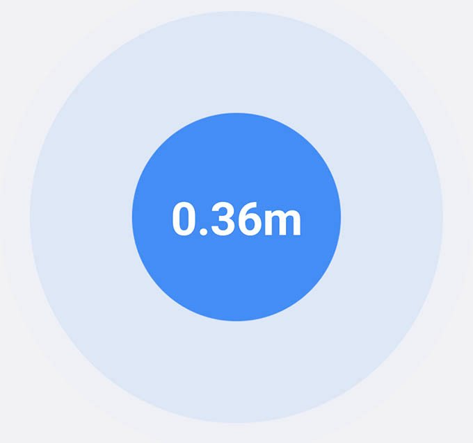 AirTag Find with Distance on Android