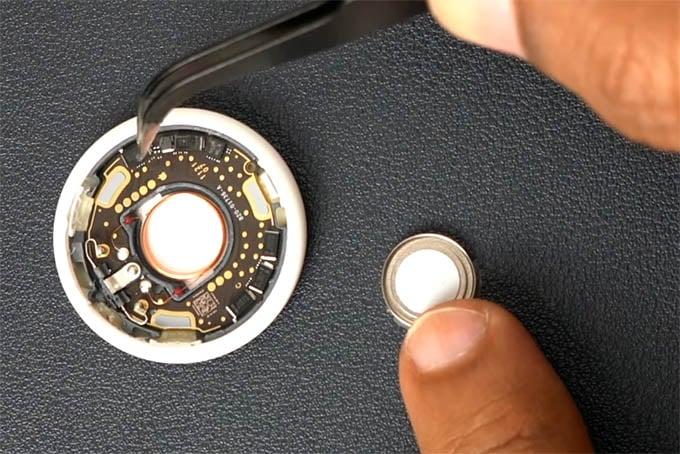 AirTag Loudspeaker Removed