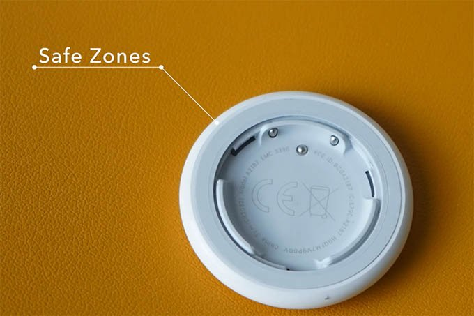 AirTag Remove Top Cover Safe Zone