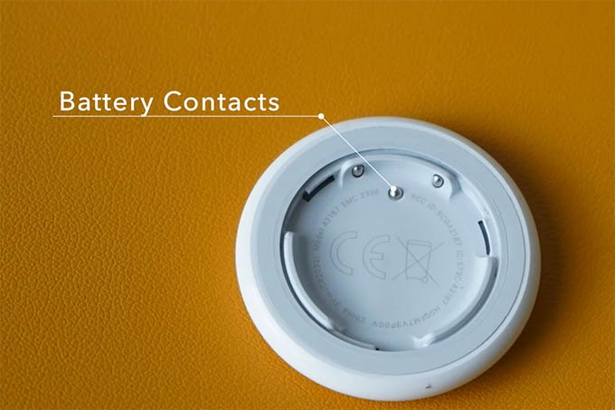 Apple AirTag Battery Contacts