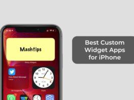 Best Custom Widget Apps for iPhone
