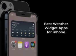 Best Weather Widget Apps for iPhone