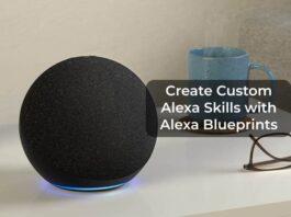 Create Custom Alexa Skills with Alexa Blueprints