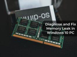 Diagnose and Fix Memory Leak in Windows 10 PC