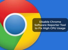 Disable Chrome Software Reporter Tool to Fix High CPU Usage