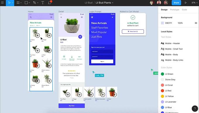 Figma Design Collaboration Tool