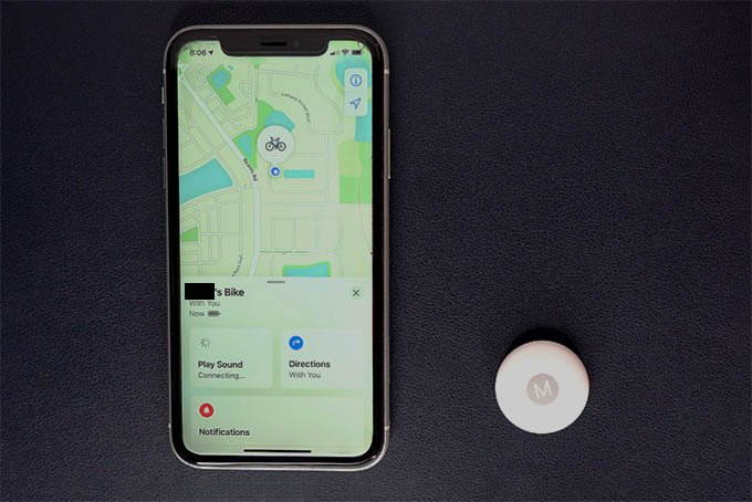 Find AirTag with iPhone X without Precision Finding