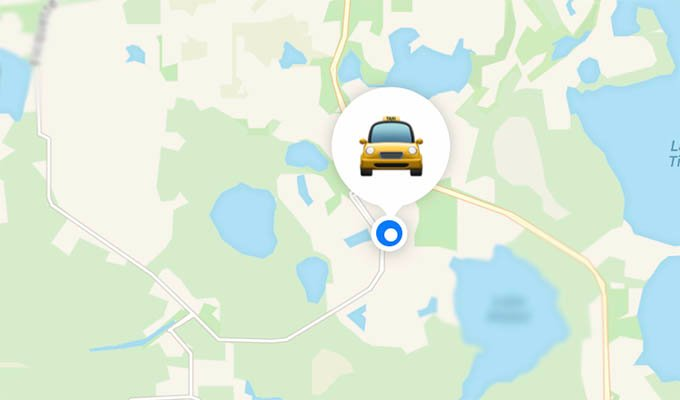 Find Car with AirTag on Find My Maps