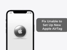 Fix Unable to Set Up New Apple AirTag