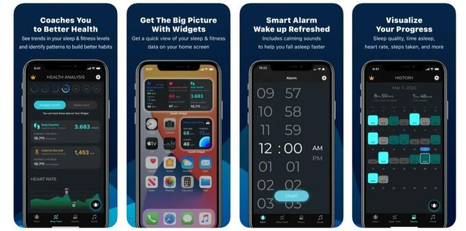 Widget: Health & Sleep Tracker