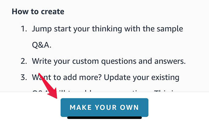 Make Your own Alexa Skill Using Alexa Skill Blueprint