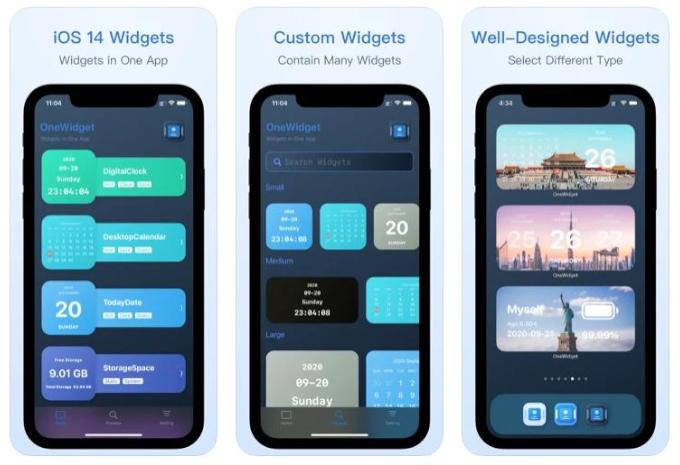 OneWidget - useful iPhone widgets in one app