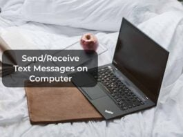 Send/Receive Text Messages on Computer