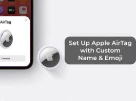 Set Up Apple AirTag with Custom Name & Emoji