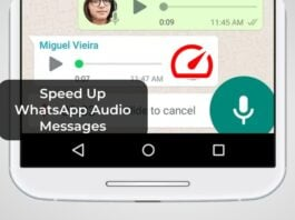 Speed Up WhatsApp Audio Messages