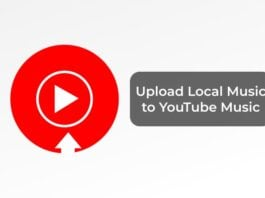 Upload Local Music to YouTube Music