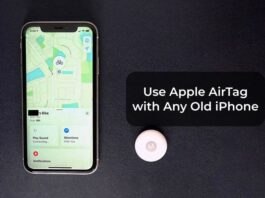 Use Apple AirTag with Any Old iPhone
