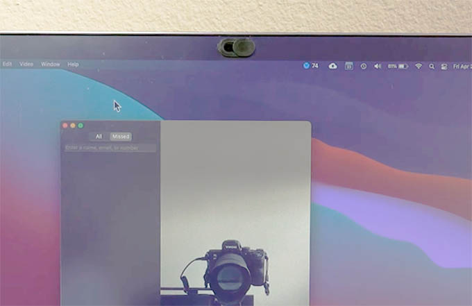 Webcam Privacy Cover for Laptops